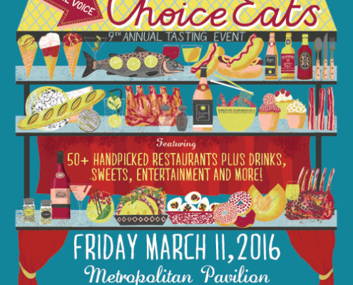 Village Voice Announces 9th Annual 'Choice Eats' Tasting Event
